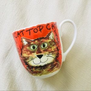 "Rose of England | ""Top Cat"" Mug"